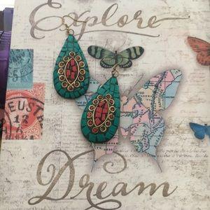 Jewelry - 🍀Bohemian earrings- Now discounted!